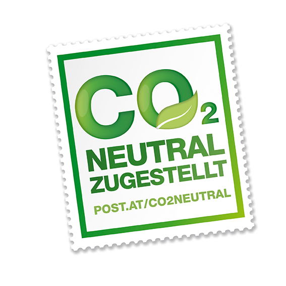 Logo Co2 Neutral zugestellt