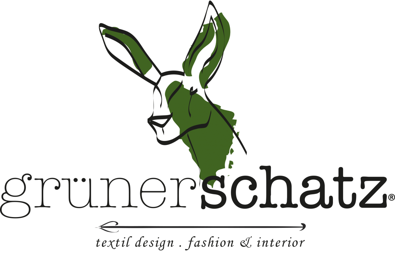 Logo grünerschatz - Textil Design - fashion & interior